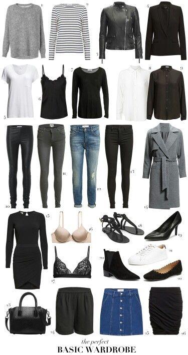 Basis wardrobe   Fashion!¡!   Vinter tøj, 10 kroners ...