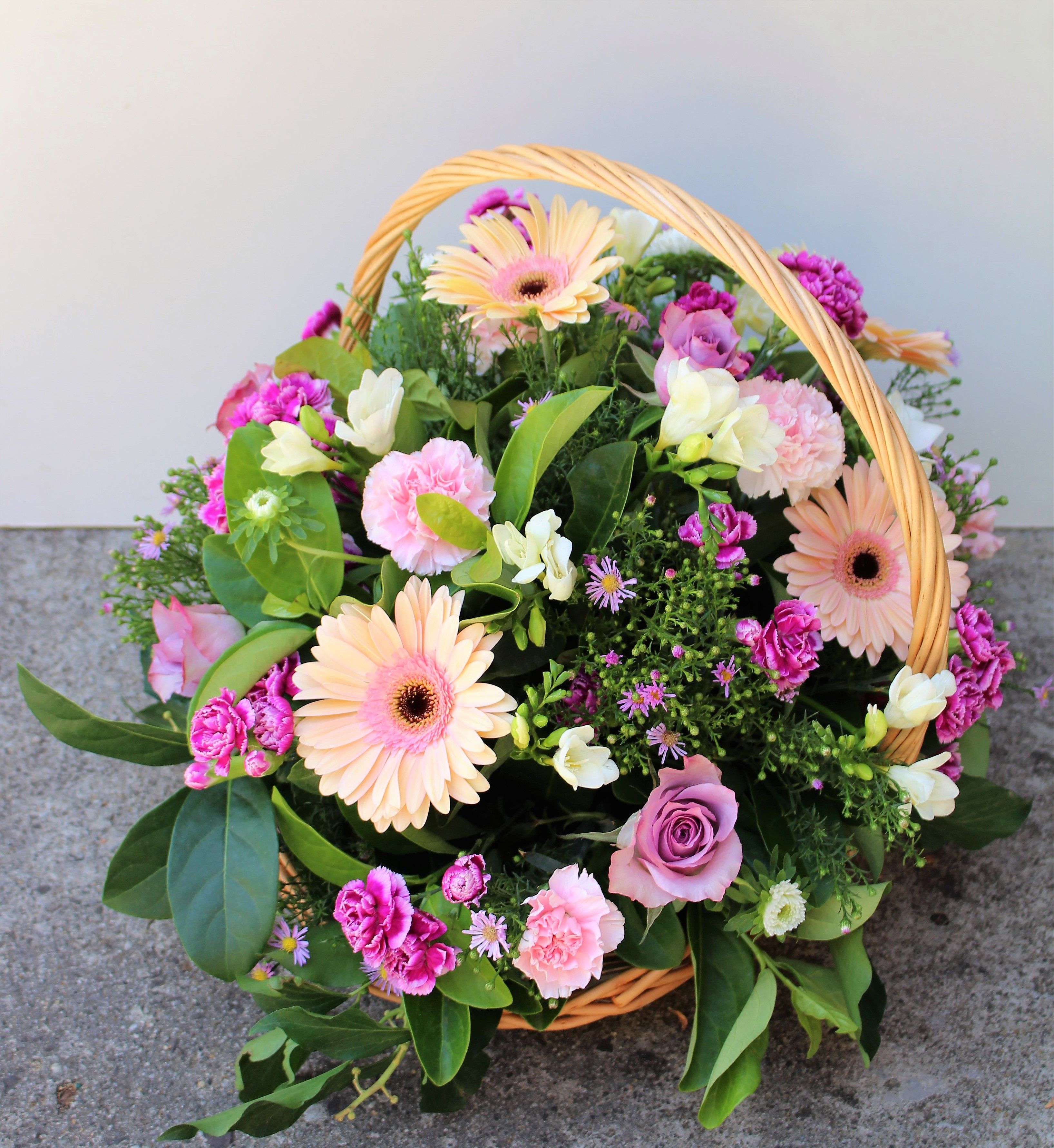 "Have you seen our ""Blissful Basket"" arrangement? It's"