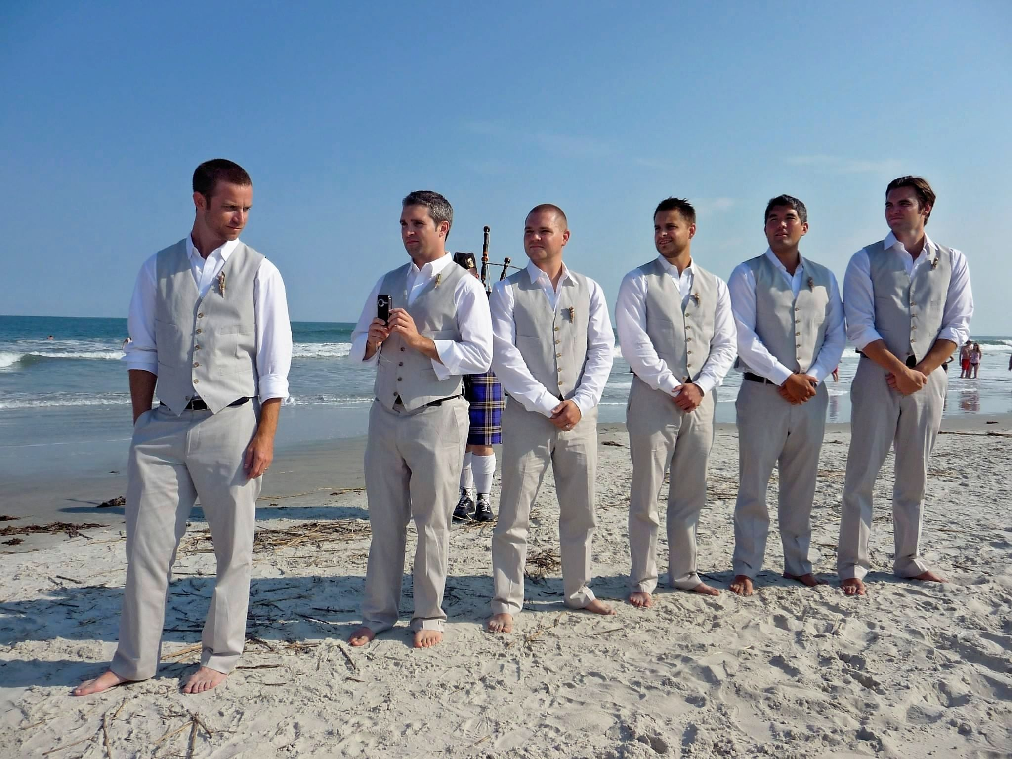 Groomsmen | I\'ll Be the One in White | Pinterest | Casual ...