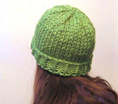 Megan E Sass Handknits Free Knitting Pattern Easy Chunky Knit