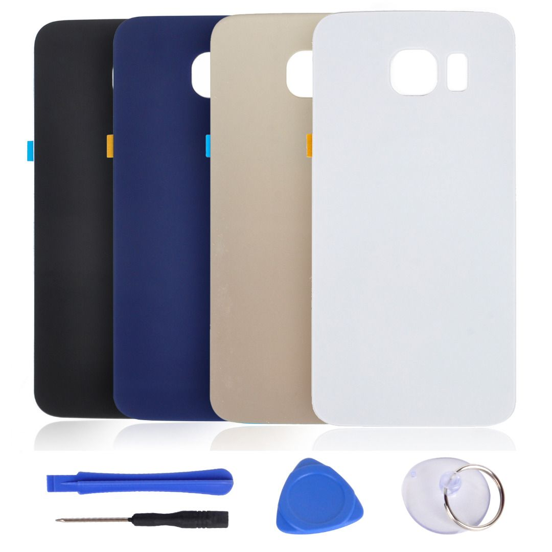 Back Door Battery Glass Rear Cover Case F Samsung S6s6 Edges6