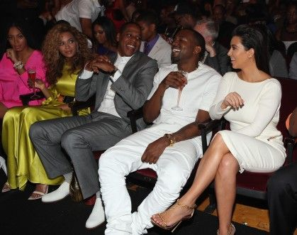 Beyonce Side Eye Kim Kardashian Kanye West Beyonce And Jay Z Kim And Kanye