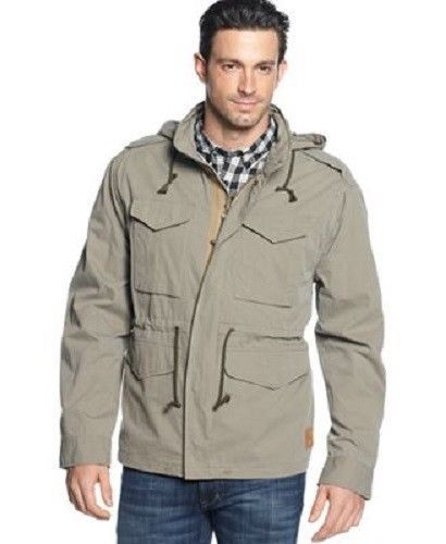 NEW Field & Stream Lightweight Military Parka Field Jacket Fatigue ...