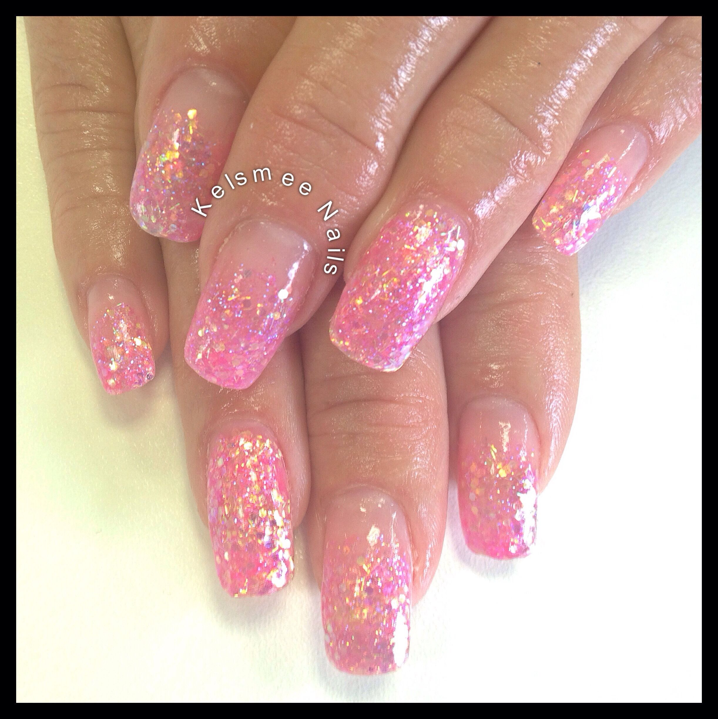 Young Nails Acrylic Glitternails Love Nails Pinterest Nail
