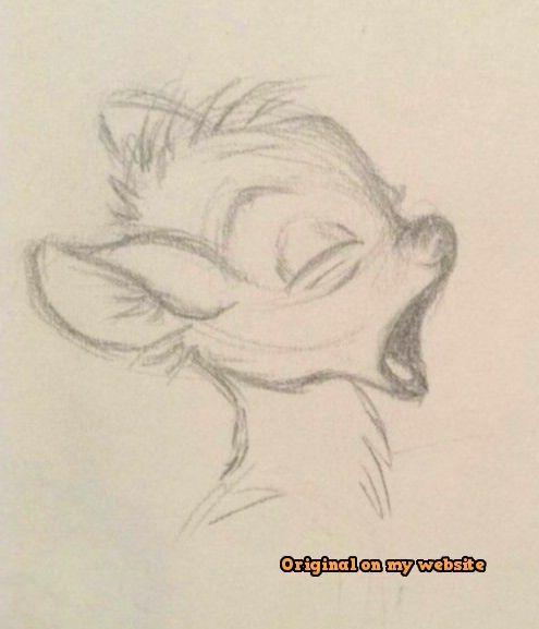 Photo of Art Drawings Tumblr – Bambi sleepy to draw – Brenda O.