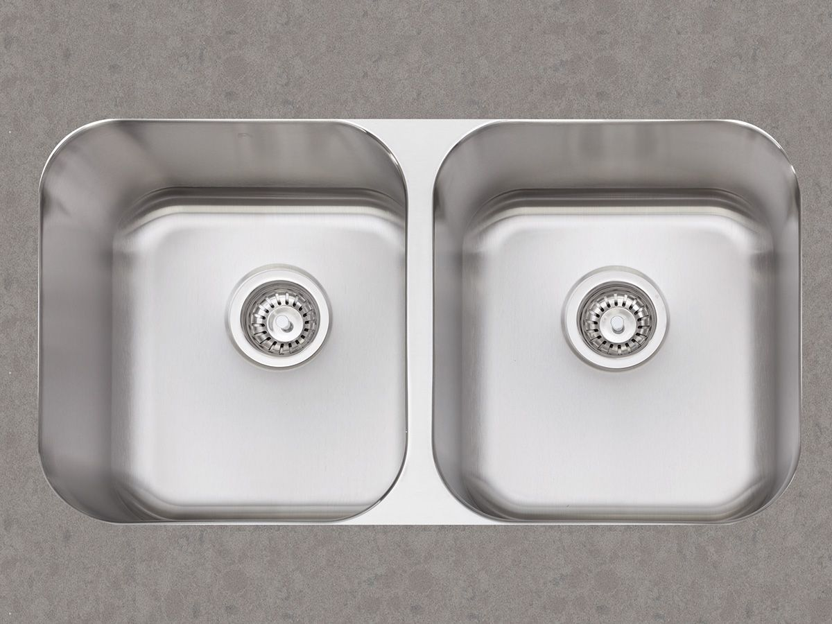 Double Undermount Kitchen Sink | Kitchen Reno | Pinterest | High ...