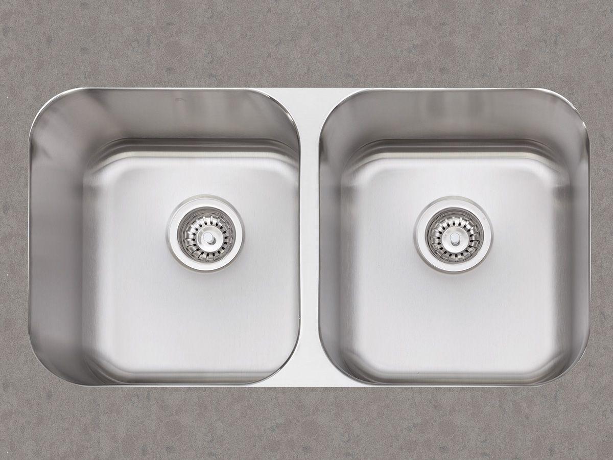 Double Undermount Kitchen Sink