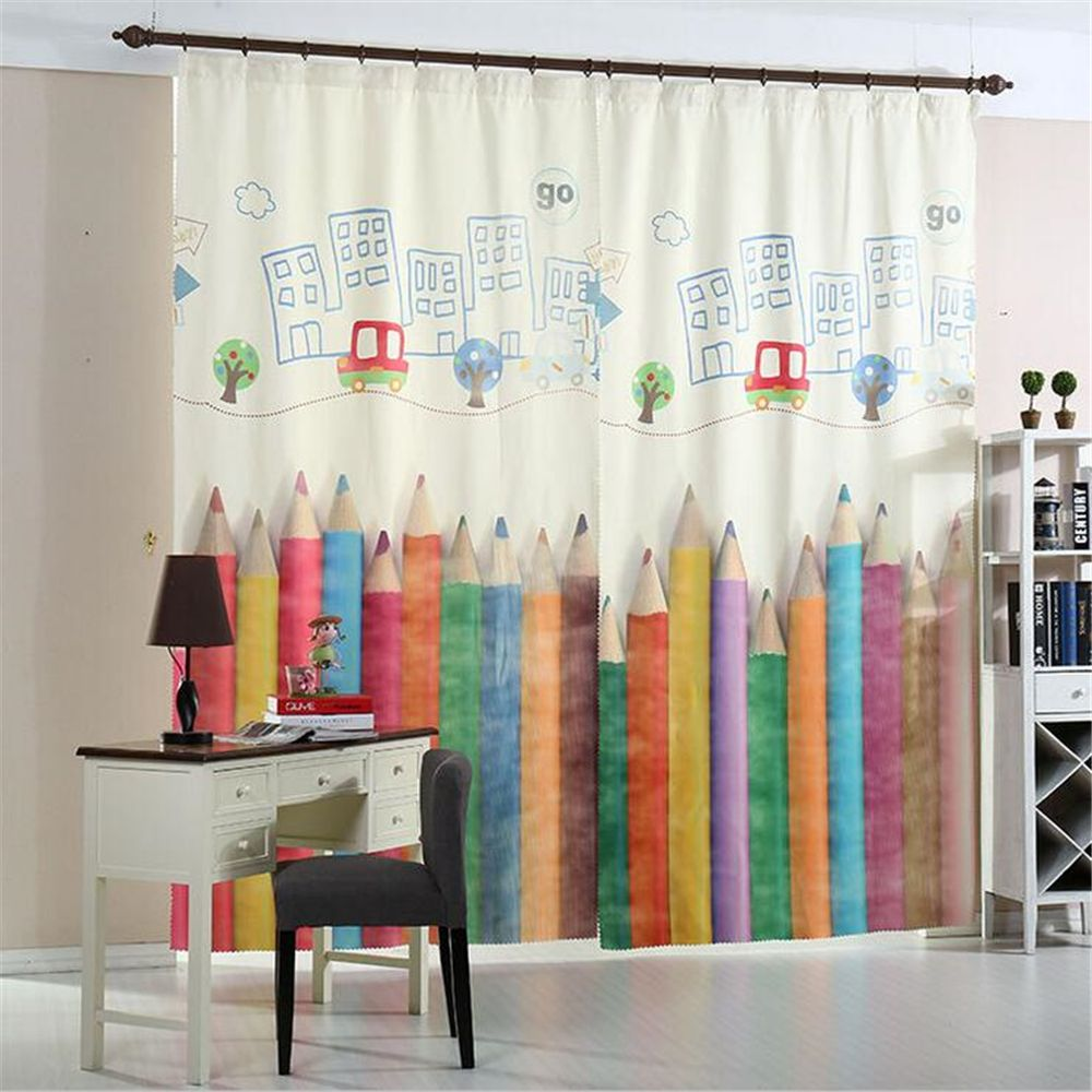 velvet curtain 3d digital print printed curtains customized blackout