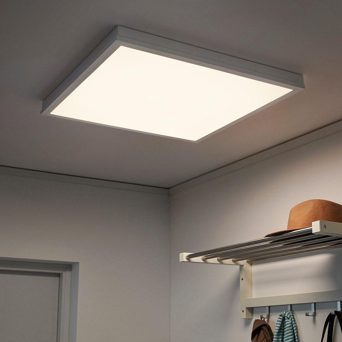 Floalt Led Light Panel Dimmable White Spectrum 24x24 Ikea Led Panel Light Light Panel Living Room Lighting Design