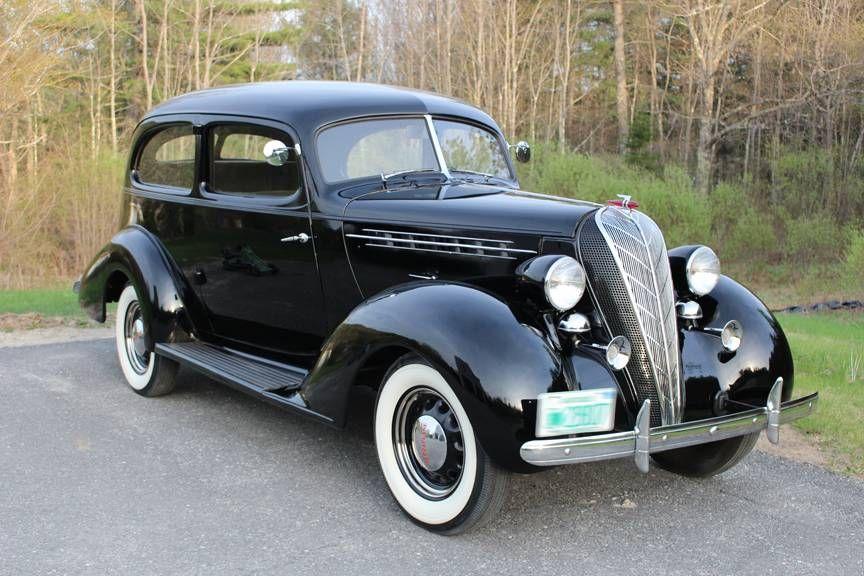 1936 Hudson Terraplane 2-Door Brougham. This is the car we had when ...