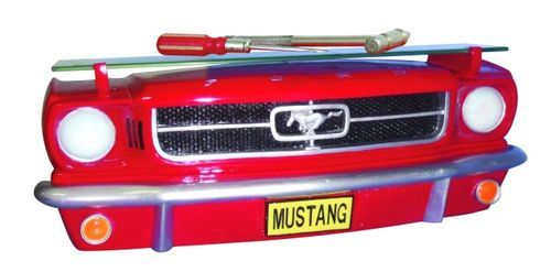 1964 FORD MUSTANG FRONT CAR WALL SHELF