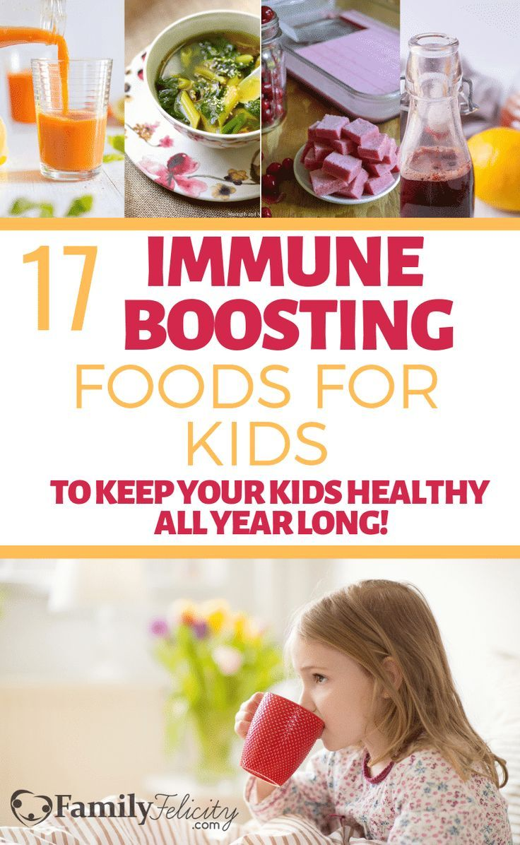 17 Immune Boosting Foods to Keep Your Kids Healthy All