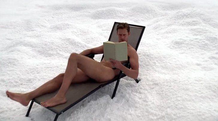Best Full Frontal In The Snow Alexander Skarsgard True Blood
