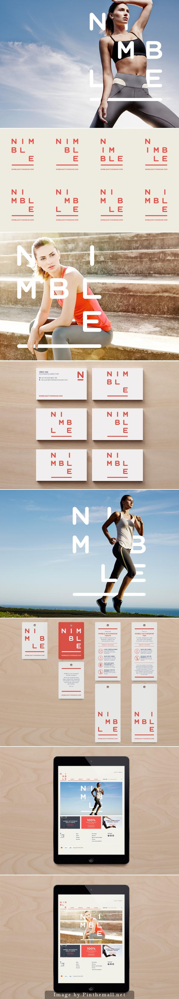 Nimble identity by Christopher Doyle & Co