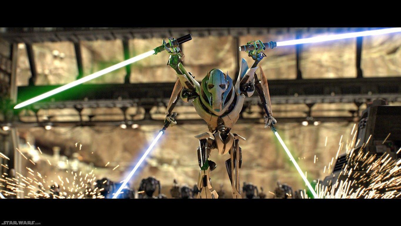 Grievous Star Wars Episode Vii Star Wars Characters Star Wars Episodes