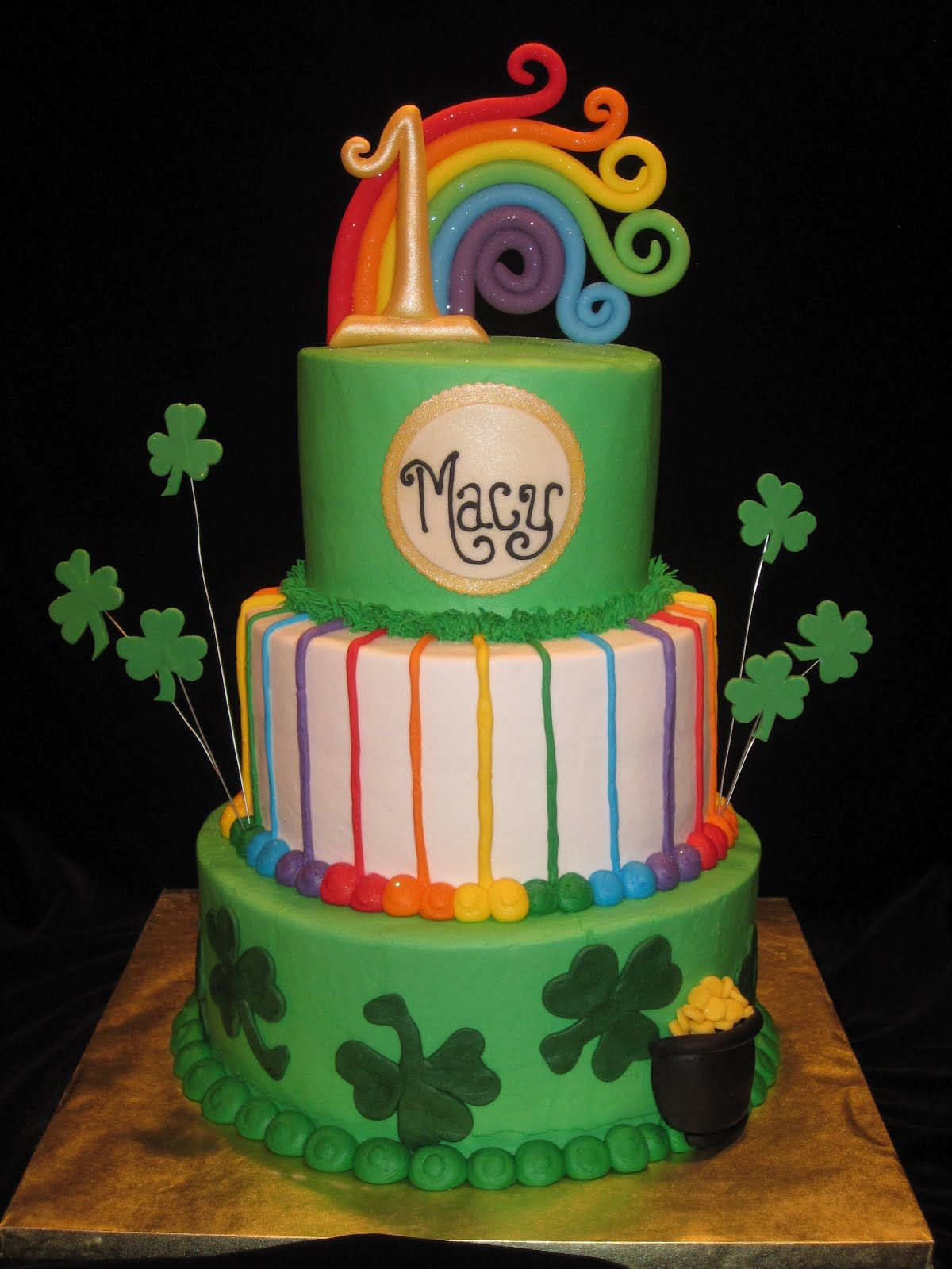 Pin by Felicia Lauderdale on Feta St patricks day cakes
