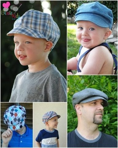 Christopher\'s Boys and Men\'s Boutique Newsboy Cap PDF Pattern | baby ...