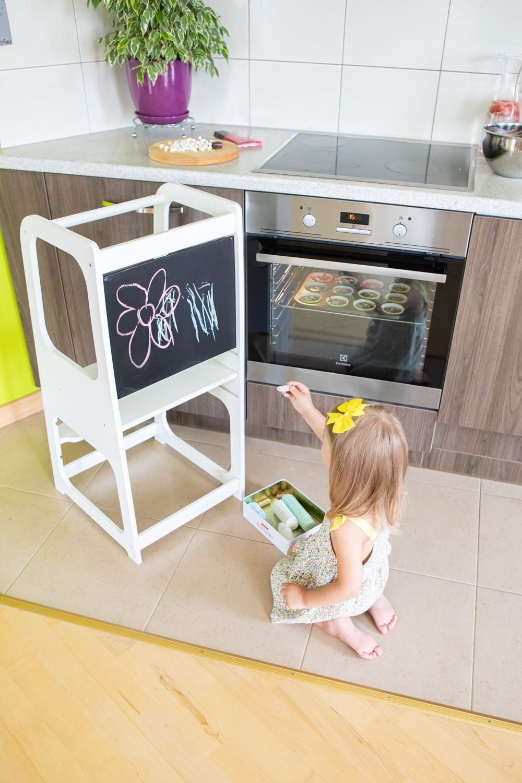 Kitchen Helper Tower Kitchen Stool Safety Stool Toddler Step Stool
