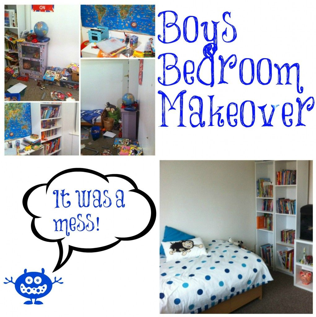 Boys Bedroom Makeover: Home Makeover On A Budget; Boy's Bedroom Final Reveal