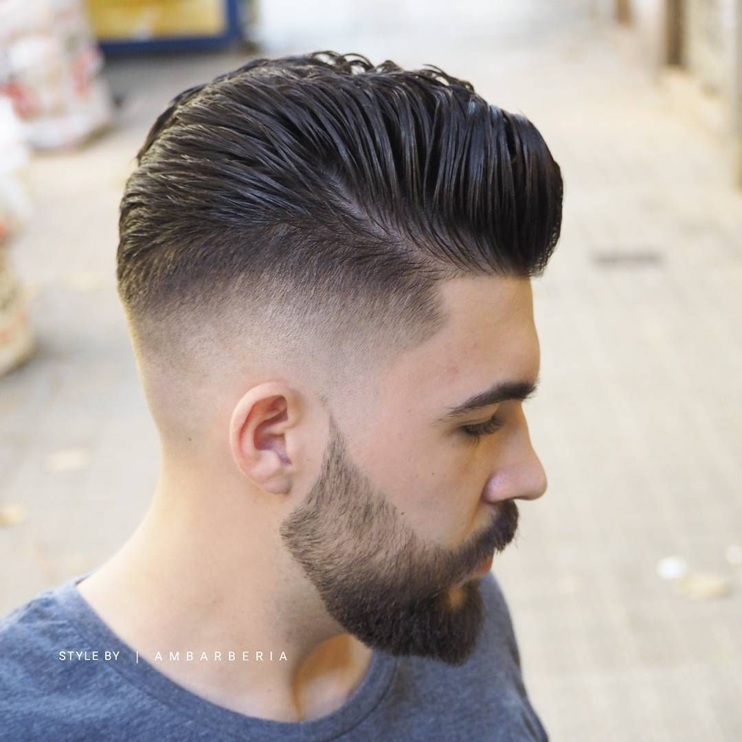 Mens Hairstyle And Beard 746 Likes 8 Comments  Men's Hairstyles & Beards Ambarberia On