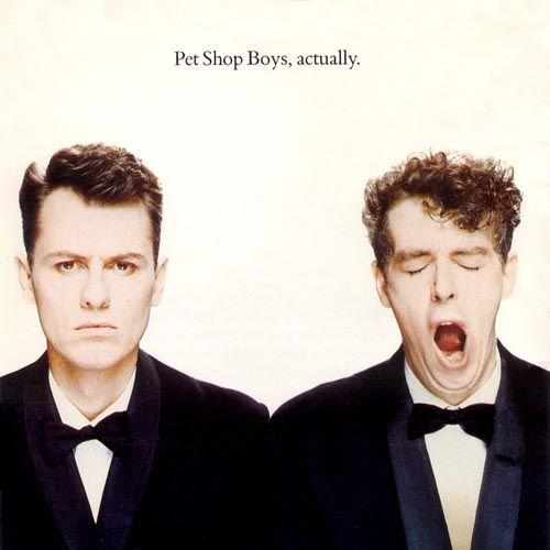 Pet Shop Boys Actually Pet Shop Boys Cool Album Covers Pet Shop
