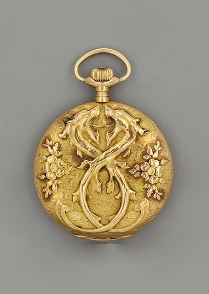 Art Nouveau Men's Pocket Watch. | faycullen