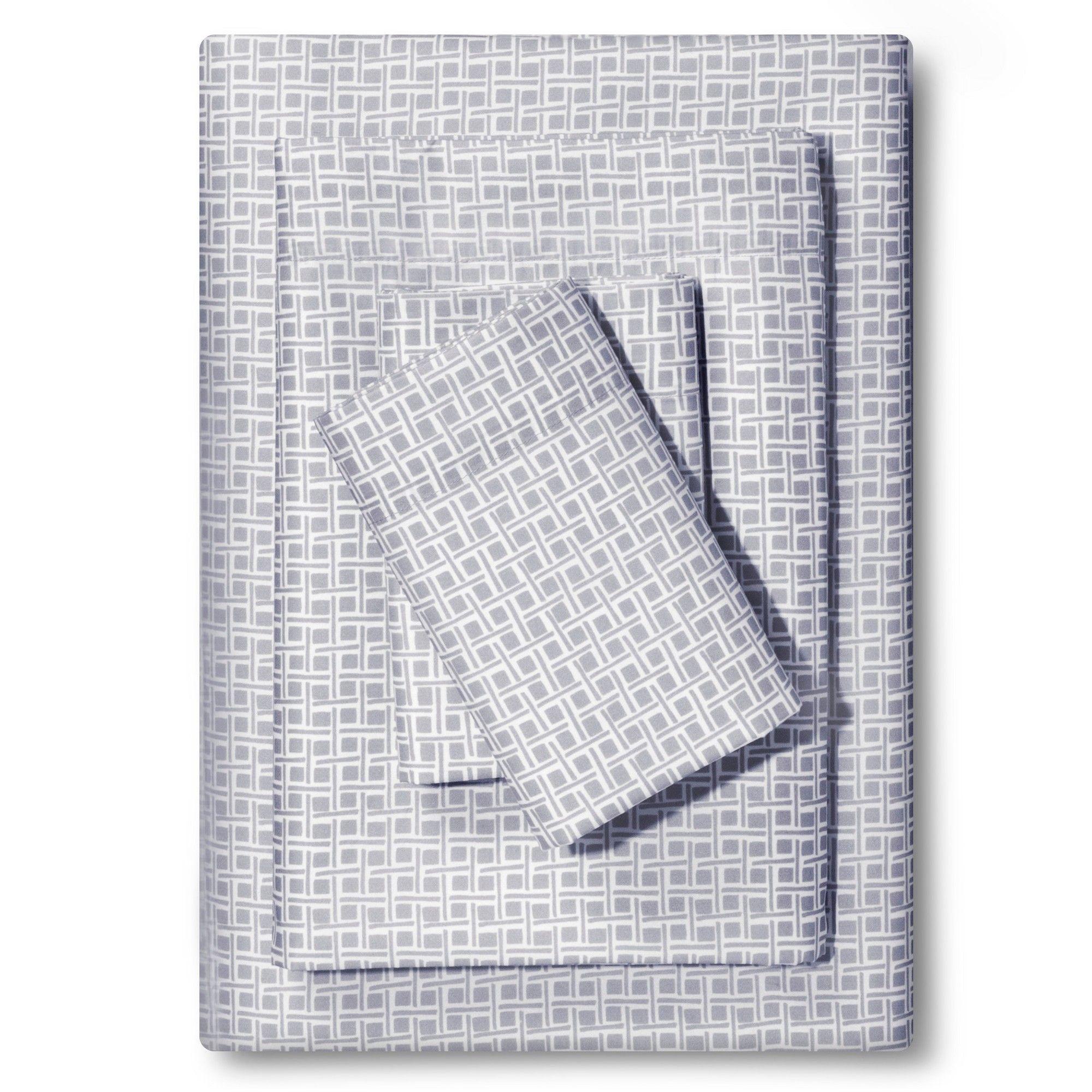 Microfiber Sheet Set (Twin/Twin XL) Gray Mist   Room Essentials