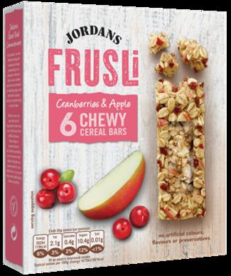 Frusli Cranberries Apple Cereal Bars Apple Cranberry Food Packaging Design Cereal Bars