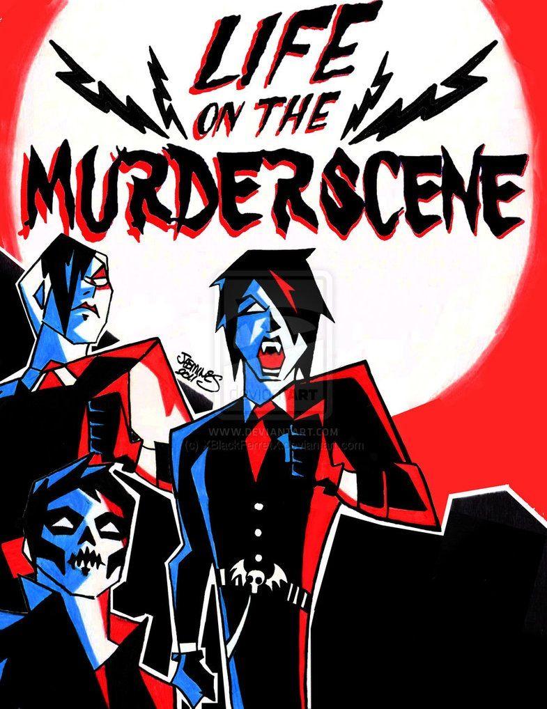 Life On The Murderscene Fanart Mcr My Chemical Romance Gerard Way Frank Iero Mikey Way Ray Torro My Chemical Romance Short Comics Romance