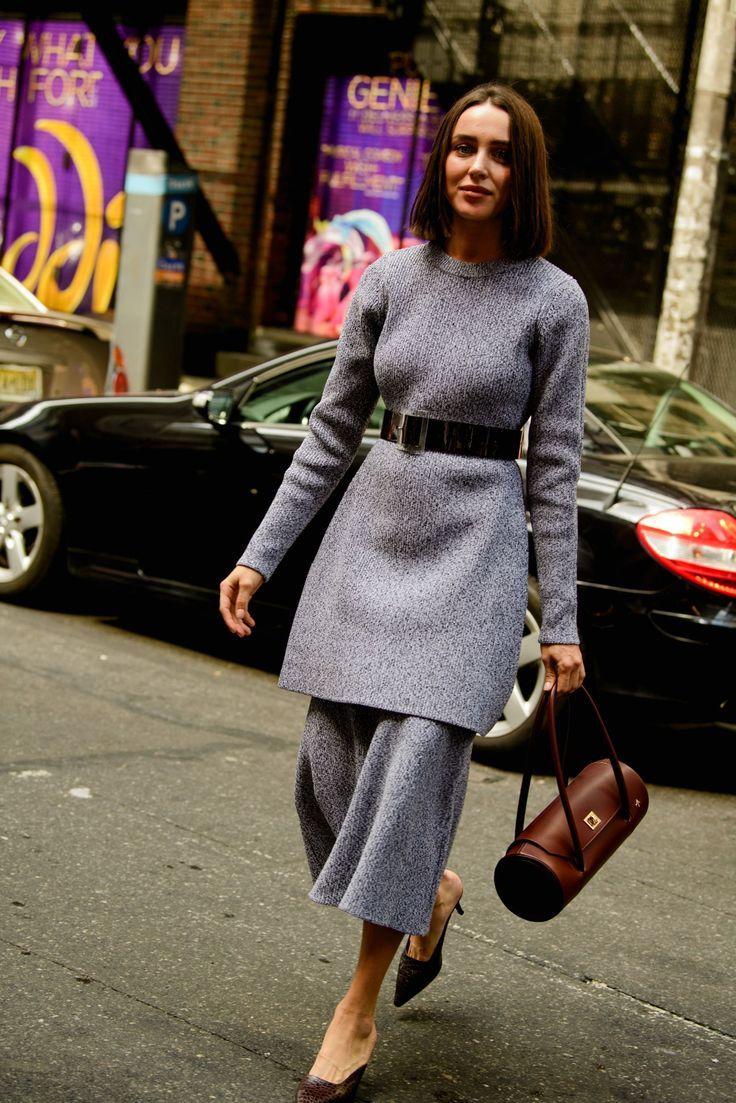 Der beste Street Style der New York Fashion Week Der beste Street Style der New York Fashion Week