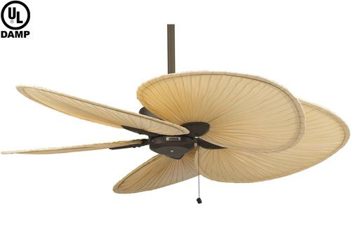ceiling fans with wicker blades  Google Search  tiki