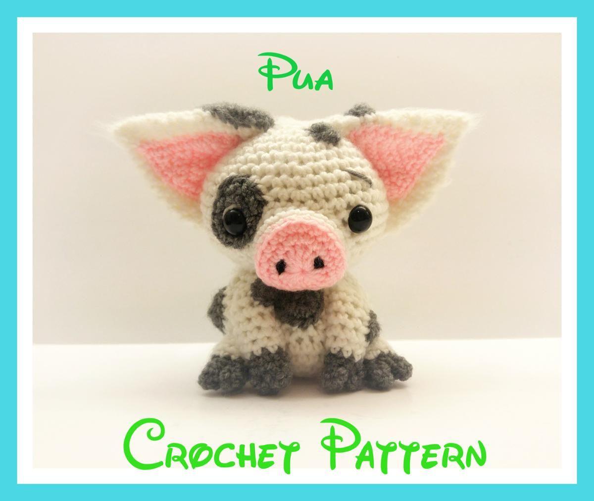 Crochet Pua Pattern From Disney\'s Moana | Crochet | Pinterest ...