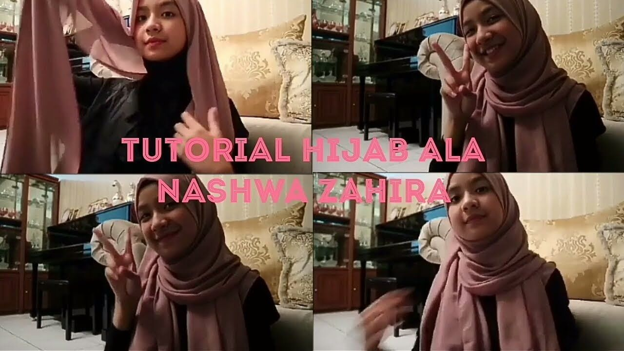 Nashwa Zahira Idol Junior Tutorial Hijab Simple Cantik Gaya