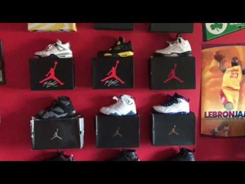 How To Display Your Shoes On The Wall Tutorial Youtube Shoe Boxes On Wall Sneakerhead Room Walls Room