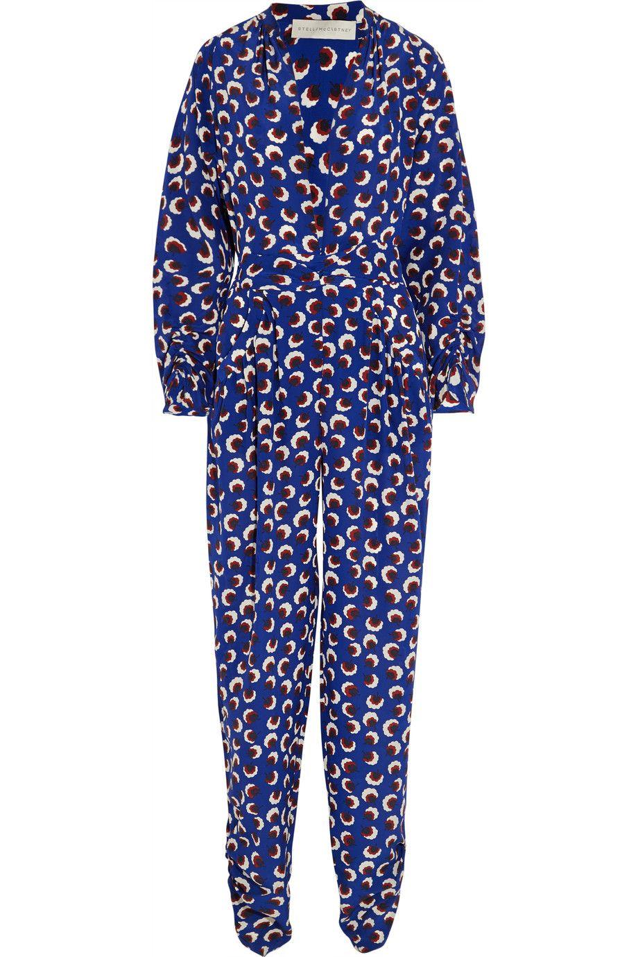 6b593513b3ce Monia printed silk crepe de chine jumpsuit | Stella McCartney | US | THE  OUTNET