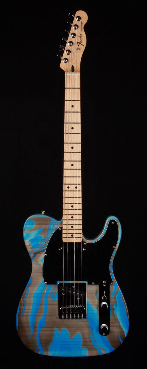 FENDER Standard Telecaster Electric Guitar - Custom Swirl | Small White Mouse
