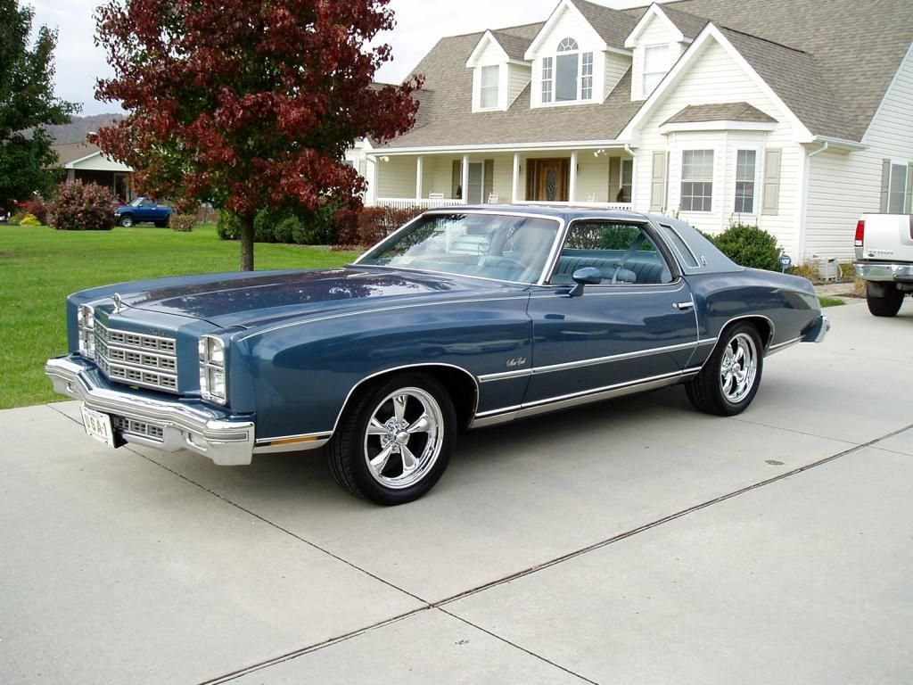 Details about 1978 Chevrolet Monte Carlo Chevrolet monte