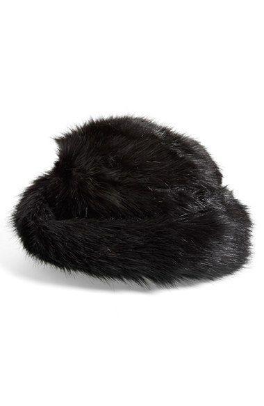 f554ad39b6d36 Parkhurst 'Jacqueline' Faux Fur Bucket Hat available at #Nordstrom ...