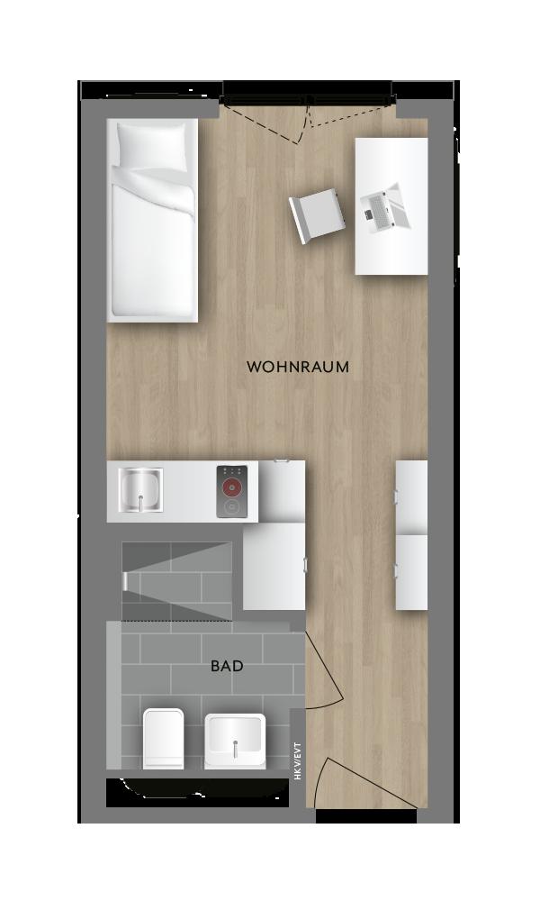 Grundrisse My Room Active Grundriss Studenten Wohnungen Wohnungsbau