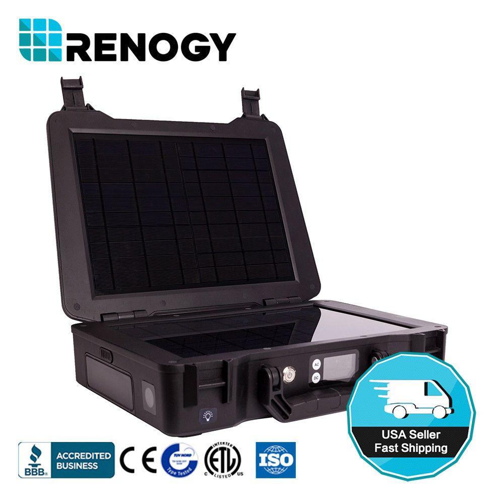 Renogy Phoenix Generator 210wh Battery 20w Complete Solar Kit Portable Power Usb Outdoors Kits Kit Camping Hikin Solar Kit Solar Power Diy Solar