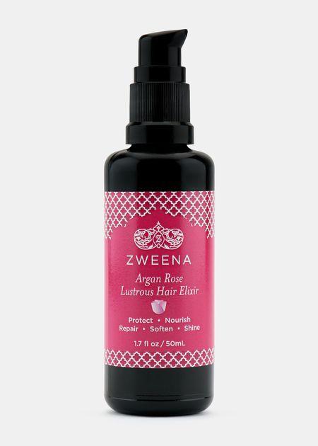 Organic Argan Rose Lustrous Hair Elixir | Rodale's