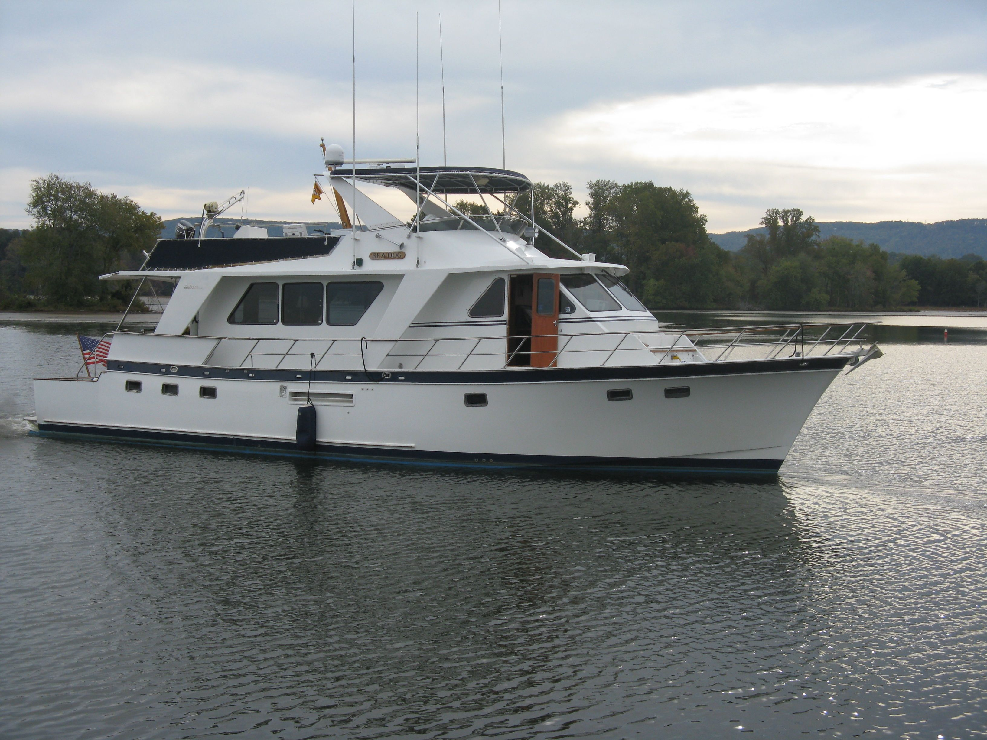 53 Defever Trawler For Sale Liveaboard Boats Buy A Yacht Boat
