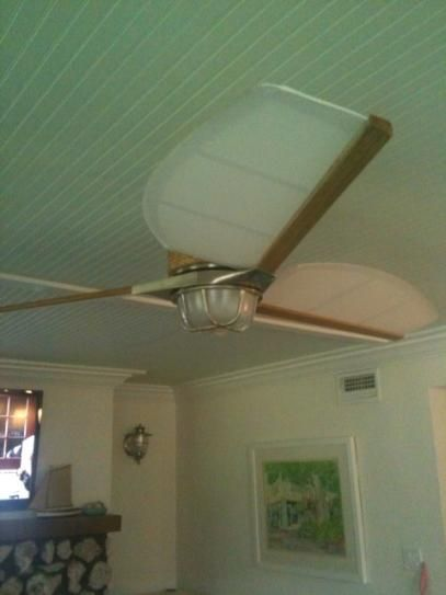 Hampton bay escape 68 in brushed nickel indooroutdoor ceiling fan mozeypictures Image collections