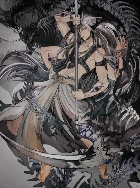 Tags Anime Pixiv Id 5978209 Magi The Labyrinth Of Magic Ren Hakuryuu Djinn Equip Extra Arms Scythe Anime Magi Magi Kingdom Of Magic Sinbad Magi
