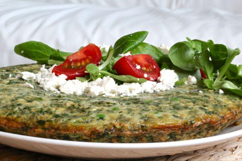frittata met zalm en groente receptenruil eetclean