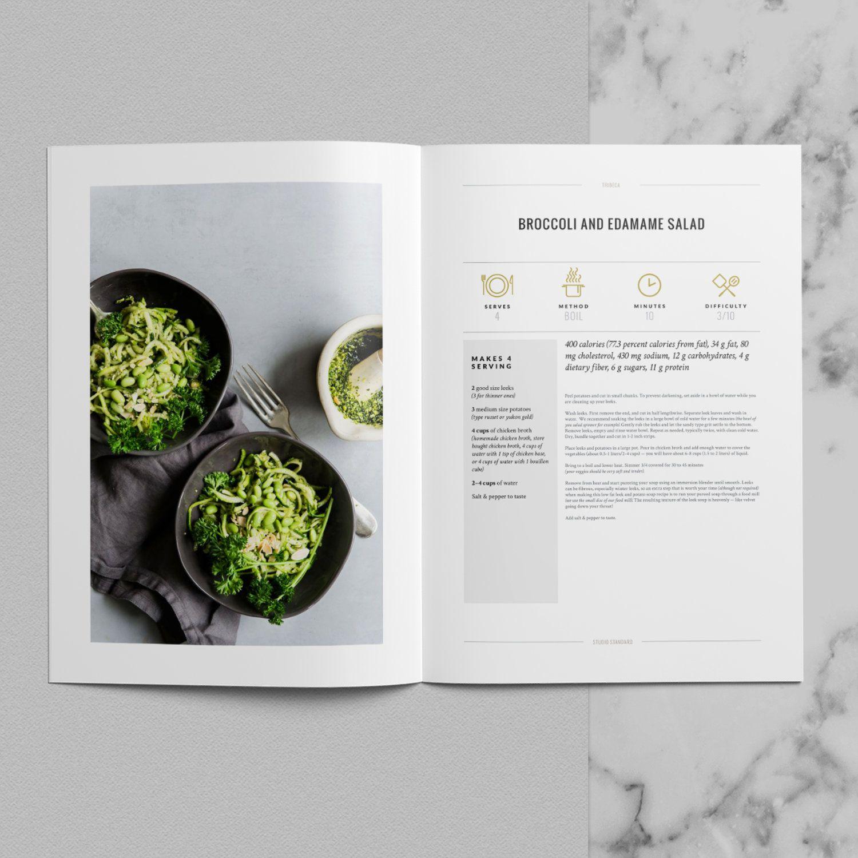 Tribeca4 Jpg Cookbook Template Recipe Book Design Cookbook Design