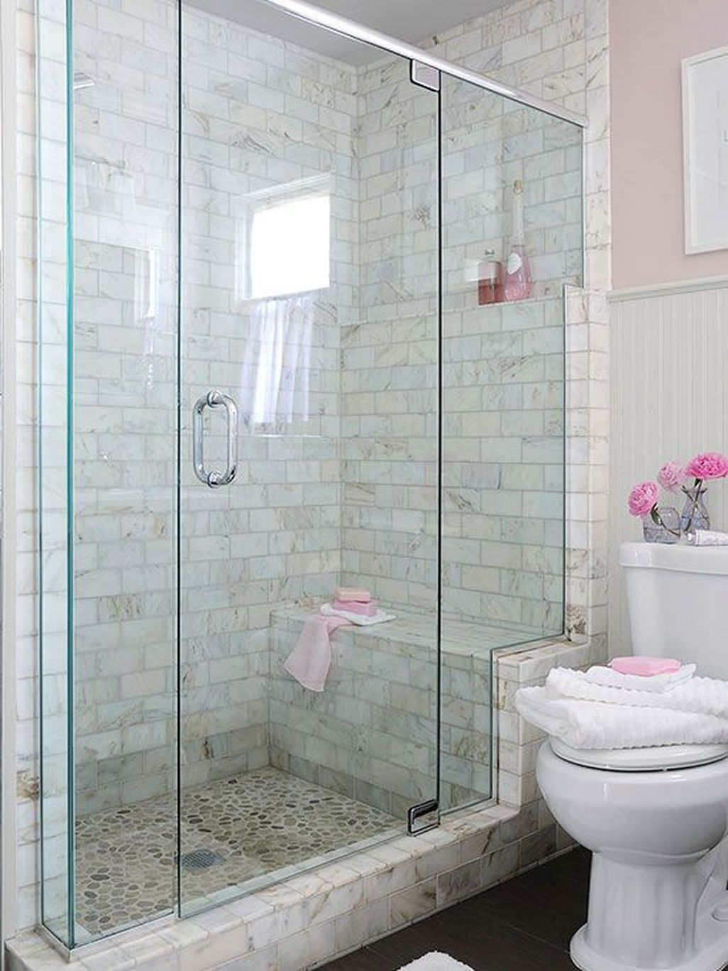Nice 45 Efficient Small Bathroom Shower Remodel Ideas. More at https ...