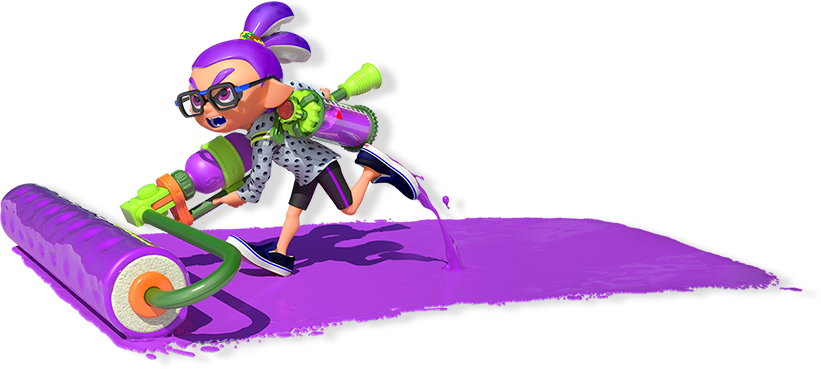 splatoon for wii u official site characters pinterest