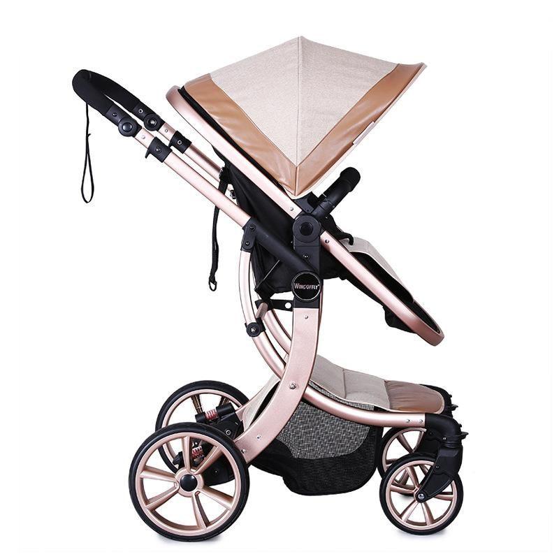 2015 New design Luxury baby stroller 3 in 1 Baby