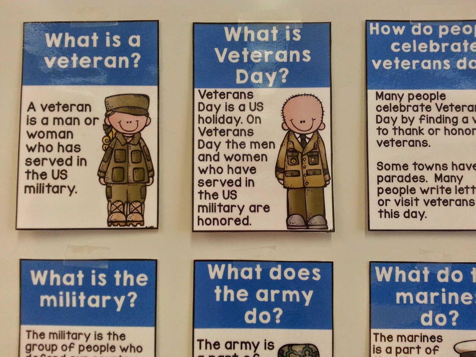 Making veterans day meaningful for young students ...